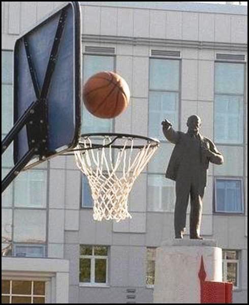 Patung jago maen basket Pic6