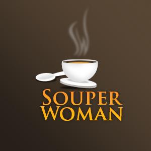 Souperwoman winning logo.